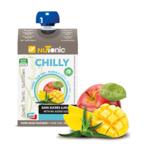 Etui gourde chilly avec fruits - Healthy