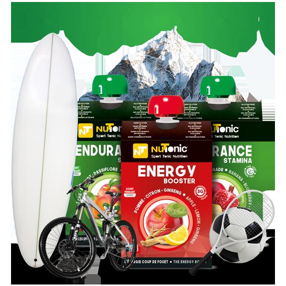 Gamme OUTDOOR (Running, Trail, Sports Co., Cyclisme, Randonnée, Tennis, etc.)